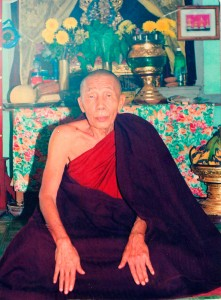 Sayadaw U Kusala, the great teacher of Oo Yin Monastery who passed on the monastery onto Sayadaw U Jotika.