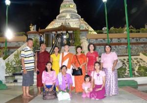 College Students at Jade Pagoda