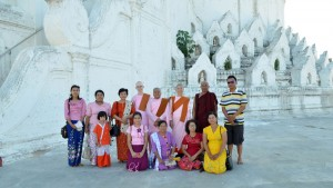 Mya-Thein-Tan-(The-White-Pagoda)-in-Sagaing-with-friends